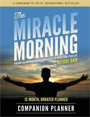The Miracle Morning Companion Planner (Paperback or Softback)