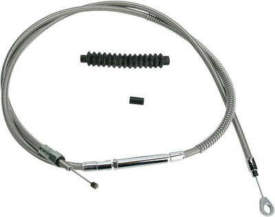 "Clutch cable stainless steel oversize +6""(152mm) - HARLEY DAVIDSON FXSTSB BAD..."