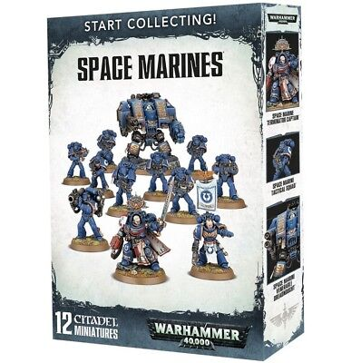 Warhammer 40K Start Collecting Space Marines - Dreadnought extra Optionen
