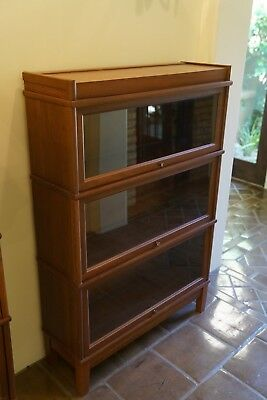 Hale Solid Walnut Barrister Bookcase
