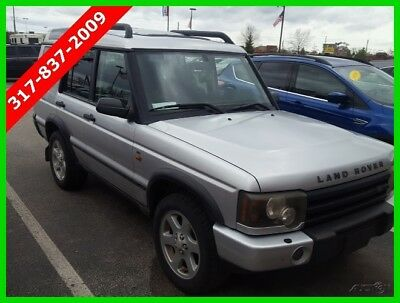 Land Rover Discovery SE Used 04 Land Rover SE Used 4.6L V8 Auto 4x4 SUV Premium Sunroof Black No Reserve