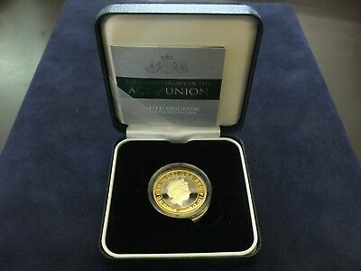 UK, 'Act of Union' Silver Proof Two Pound Coin, 2007. In box with COA.