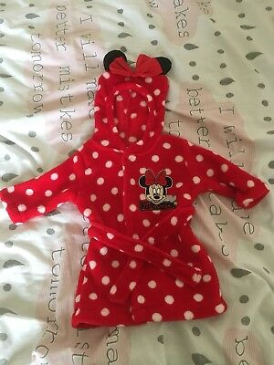 Minnie Mouse Dressing Gown