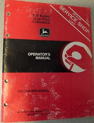 John Deere 725 Series Row-Crop Cultivator Operators Manual OM-N200013