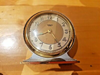 VINTAGE Smiths Empire Clock British  COLLECTABLE RETRO RARE NOT WORKING
