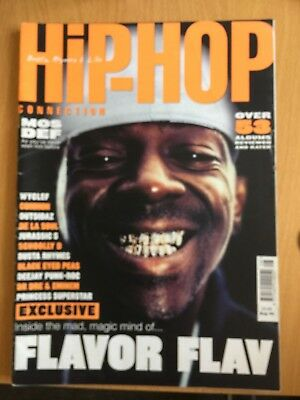 HHC Hip Hop Connection Magazine Aug 2000 - Mos Def, Wyclef, Eminem (Source)