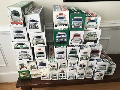Collection of Hess Trucks- quantity of 36