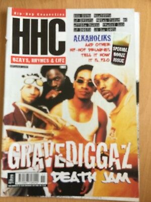 HHC Hip Hop Connection Magazine Nov 1997 - Gravediggaz, Ice Cube, Wu-Tang Source