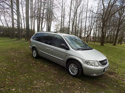 Chrysler Grand Voyager 2.5CRD Limited netherton cars