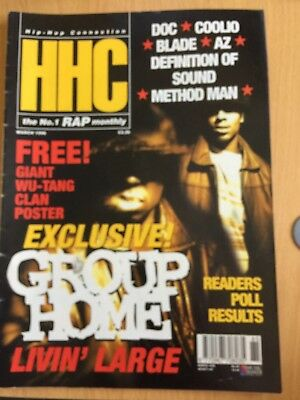 HHC Hip Hop Connection Magazine March 1996 - Group Home, Wu-Tang, AZ (Source)