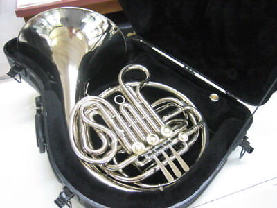 Good King Model1160 Solid Nickel Silver Double French Horn