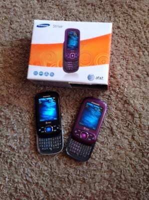 Samsung strive  AT&T used lot of 2 purple & black