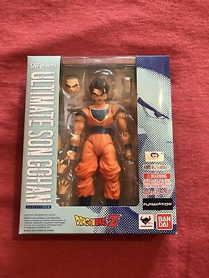AUTHENTIC Dragonball S.H.Figuarts Ultimate Son Gohan display only smoke freehome