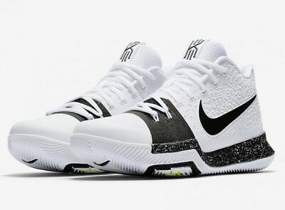 brand new 9821e 34ee7 NIKE KYRIE 3 TB Men's Basketball Shoes | White | 917724 100 | NEW IN BOX!^