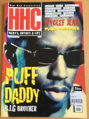 HHC Hip Hop Connection Magazine Sep 1997 - Puff Daddy, Company Flow, Wu-Tang
