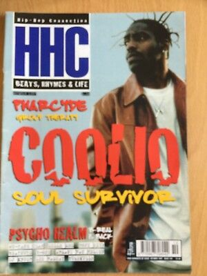 HHC Hip Hop Connection Magazine Oct 1997 - Coolio, Wu-Tang, Pharcyde (Source)