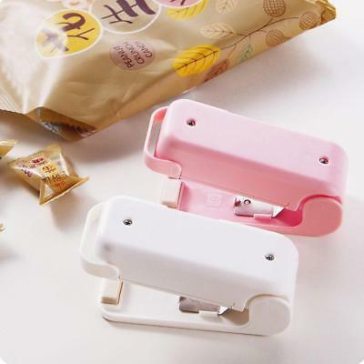 Mini Sealing Machine Make Food Fresh Portable Plastic Bag Heat Sealer Capper