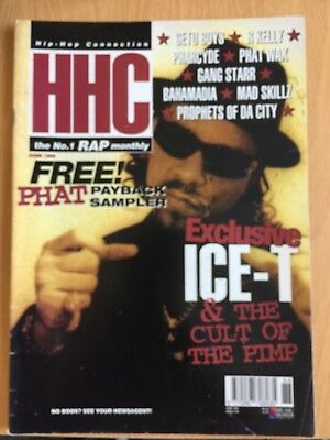 HHC Hip Hop Connection Magazine June 1996 - Geto Boys, Gang Starr, R Kelly