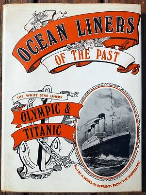 Ocean Liners of the Past - Olympic and Titanic - hardback
