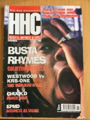 HHC Hip Hop Connection Magazine Winter 1997 - Busta Rhymes, EPMD (Source)