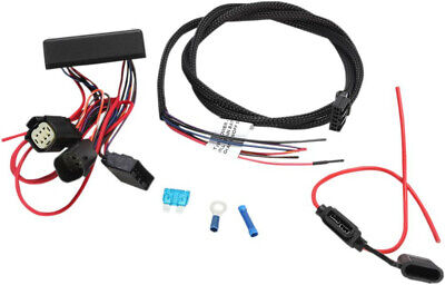 trailer wiring harness and relay 5 wire harley davidson flhtcutg rh picclick co uk harley trailer wiring harness trailer wiring harness harbor freight