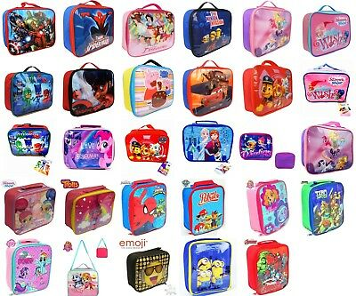 Disney Character Kids Insulated Lunch Bag For School Nursery Travel Bag