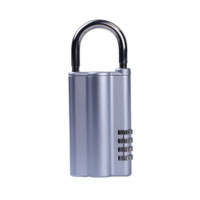 4-Digit Resettable Combination Lock Code Password Key Keeper Lock Box Lockbox