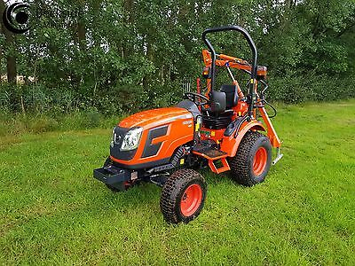 KIOTI CK2810 HST Hydro static Compact Tractor & Hedge Trimmer