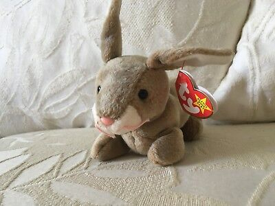 Vintage 1998 TY The Beanie Babies Collection Nibbly Stuffed Toy Plush (retired)