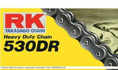 530 dr 120 clip link 530 non-seal drag racing drive chain / natural / steel - RK