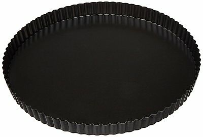 "Paderno World Cuisine Tart Pan w/Removable Base, Non-Stick, DIA 12 1/2"" x H 1"""