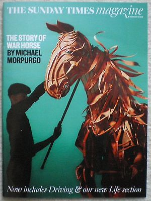 War Horse by Michael Morpurgo - Sunday Times Magazine –  21 February 2016