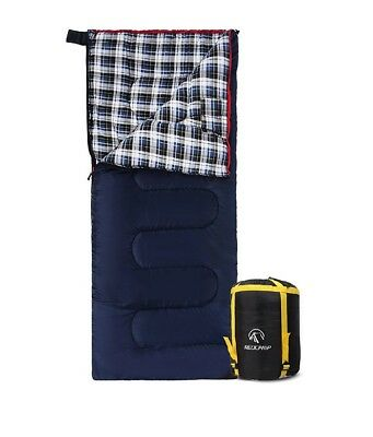 REDCAMP Cotton Flannel Sleeping bags for Camping