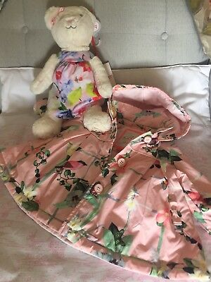 Ted Baker Baby Girls Coat 3-6 Months worn once.