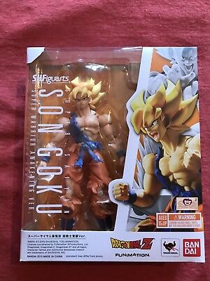 Bandai S.H.Figuarts Dragonball Z Super Saiyan Son Goku Warrior Awakening Version