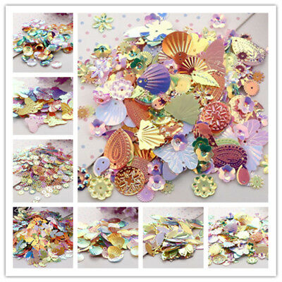 Mixed Colors and Shapes Boutique Sequins DIY Sewing for Clothing Accessories New