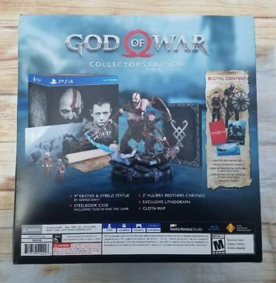 God of War Collector's Edition (Sony PlayStation 4, 2018) brand new sealed