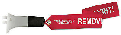 NEW Blade Style Pitot Tube Cover - FITS: Piper Cherokee, Warrior, and Arrow