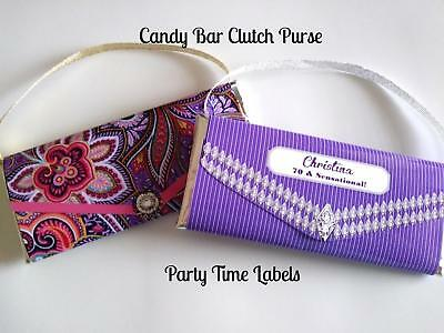 12 Birthday Bachelorette Party Favors Candy Bar Clutch Purses