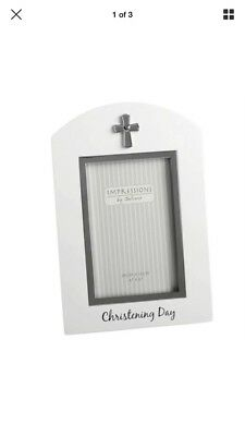 Impressions Christening Photo frame