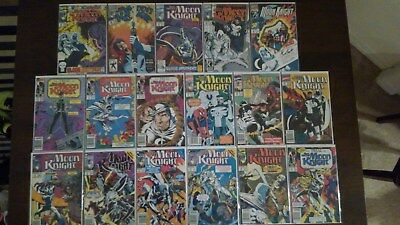 Marc Spector Moon Knight Incomplete Marvel Comic Set Lot # 6, 8-10, 14-21, 35-38