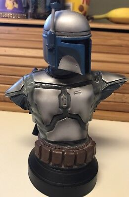 Jango Fett Star Wars Gentle Giant Mini Bust Statue Limited Edition 2002 of 2500