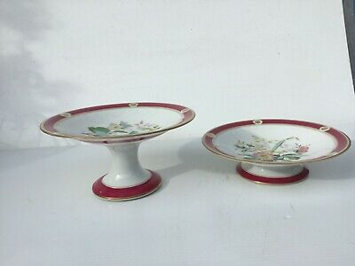 Four beautiful hand painted serving plates