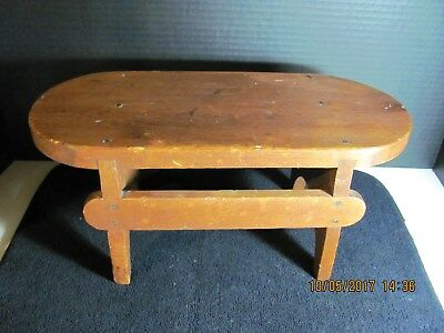 Antique Hand Crafted Foot Stool