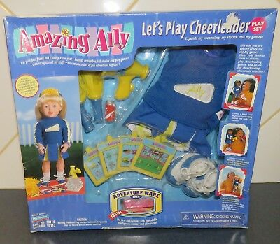 Playmates Amazing Ally Let's Play Cheerleader Outfit NIB