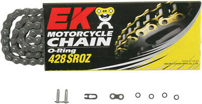 Sroz 120 clip link 428 o-ring replacement drive chain / natural / steel - EK