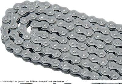 Motorcycle chain 530PO 116 links O-ring steel