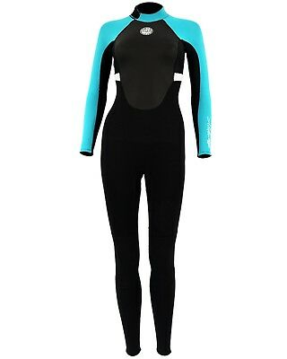 Alder Impact 3/2mm Wetsuit - Black (2018) - Ladies Back Zip