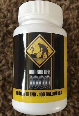 Bud Builder 100 Gal Mix - 100 ml Bottle - Protein Blend - Concentrated Aminos