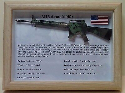 M16 Assault Rifle - Camouflage